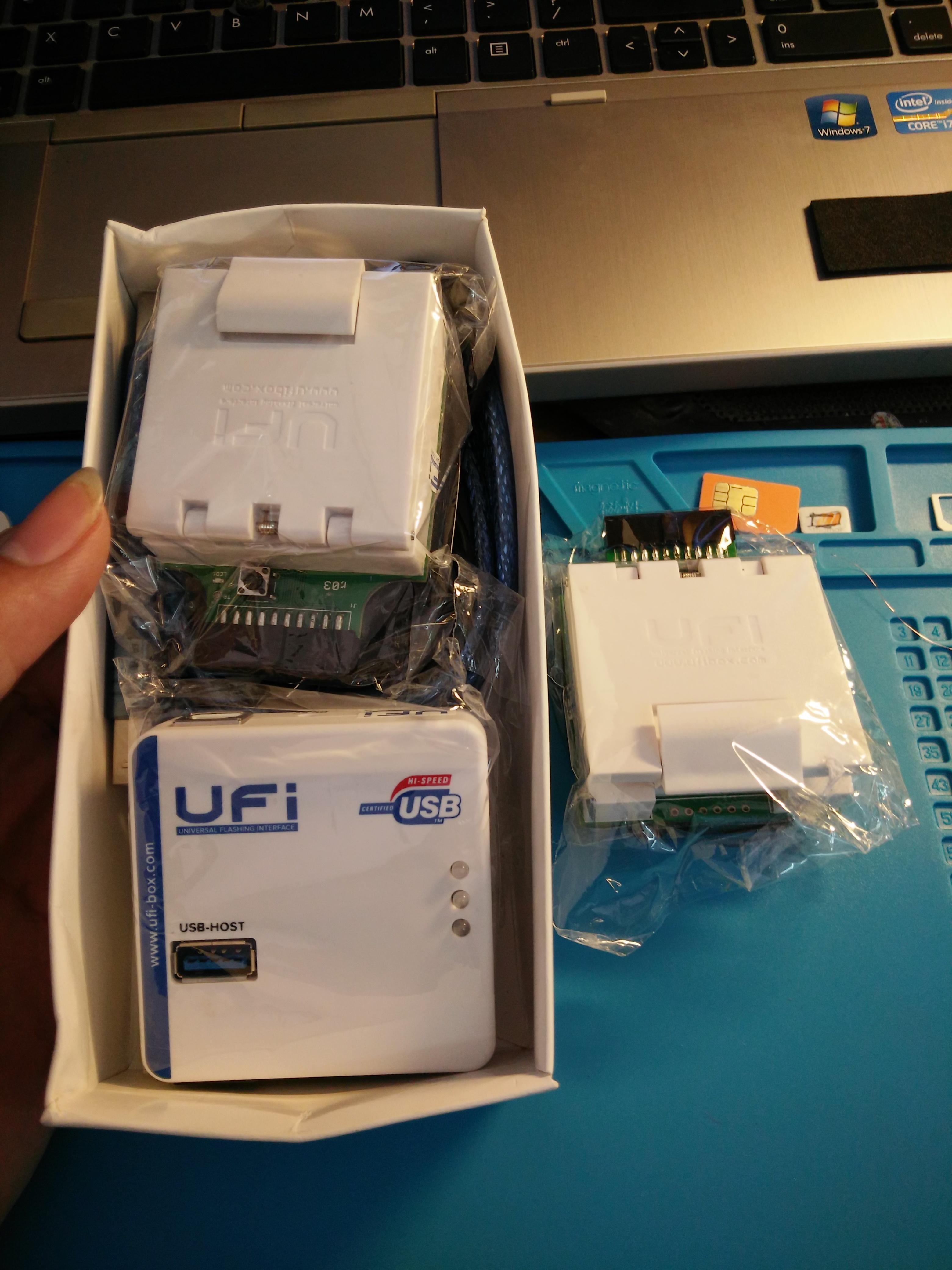 ufi box- ufi dongle và thông tin